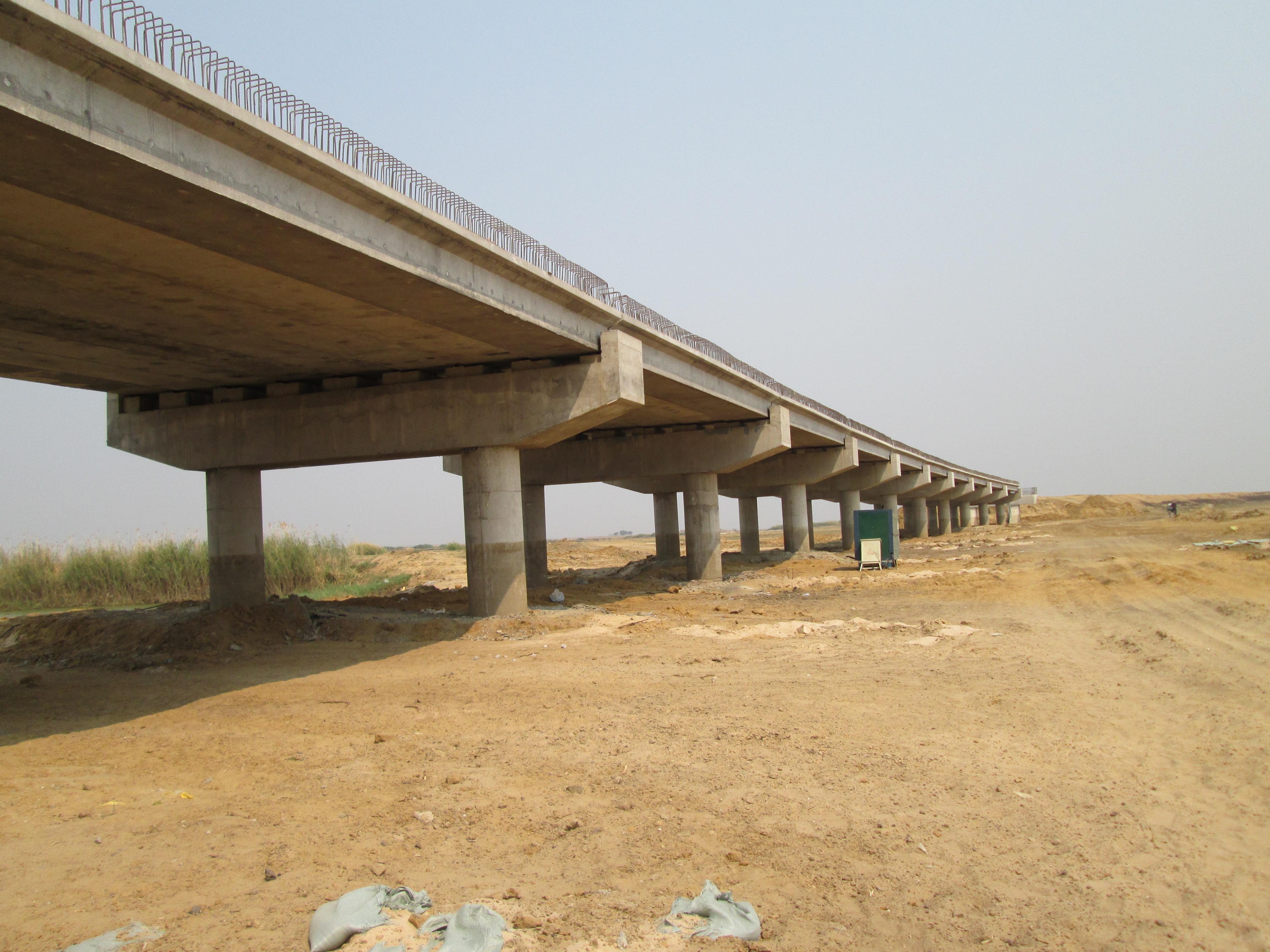 Bridge Piers – Mongu Kalabo