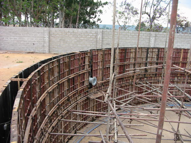 ground tank constr